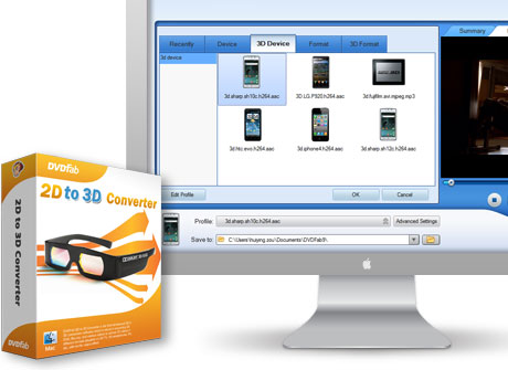 2D to 3D Converter for Mac