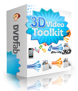 DVDFab 3D Video Toolkit
