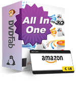 DVDFab All-In-One Lifetime Gift para Linux