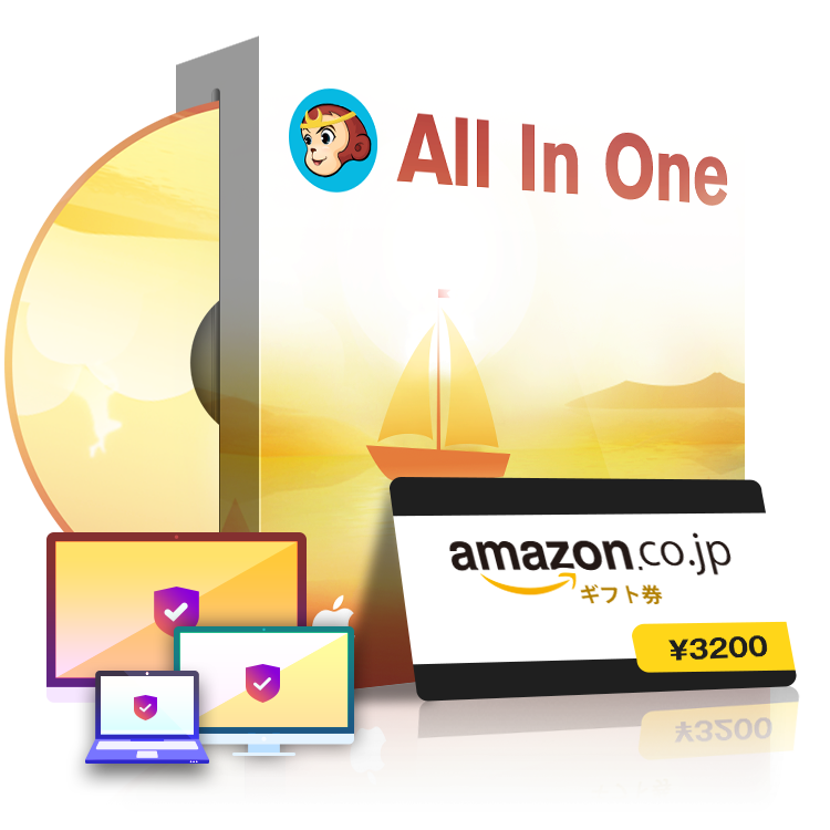 DVDFab オールインワンライフタイムギフト for Mac