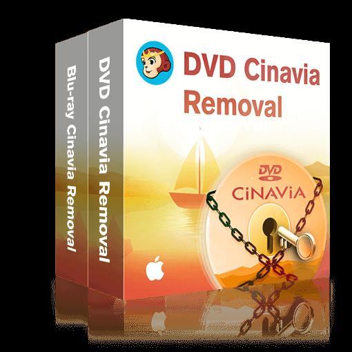 DVD & Blu-ray Cinavia 除去 for Mac