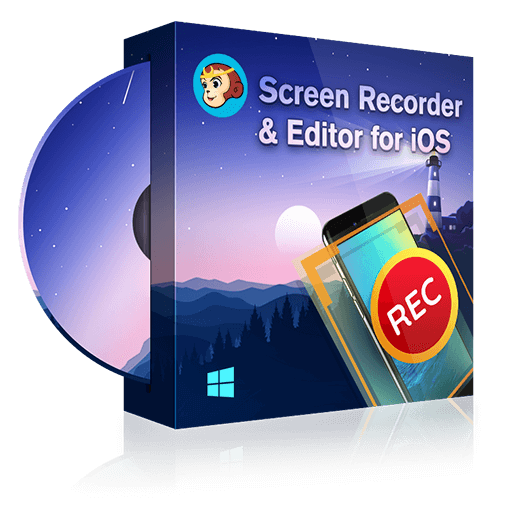 DVDFab Screen Recorder & Editor for iOS