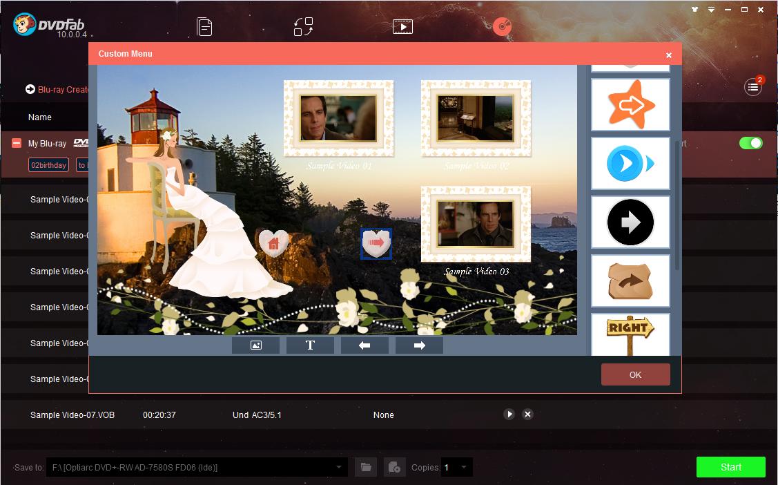 dvdfab blu-ray creator screenshot 4