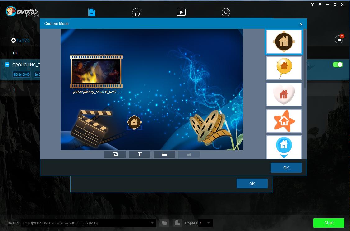 dvdfab blu-ray to dvd converter screenshot 4
