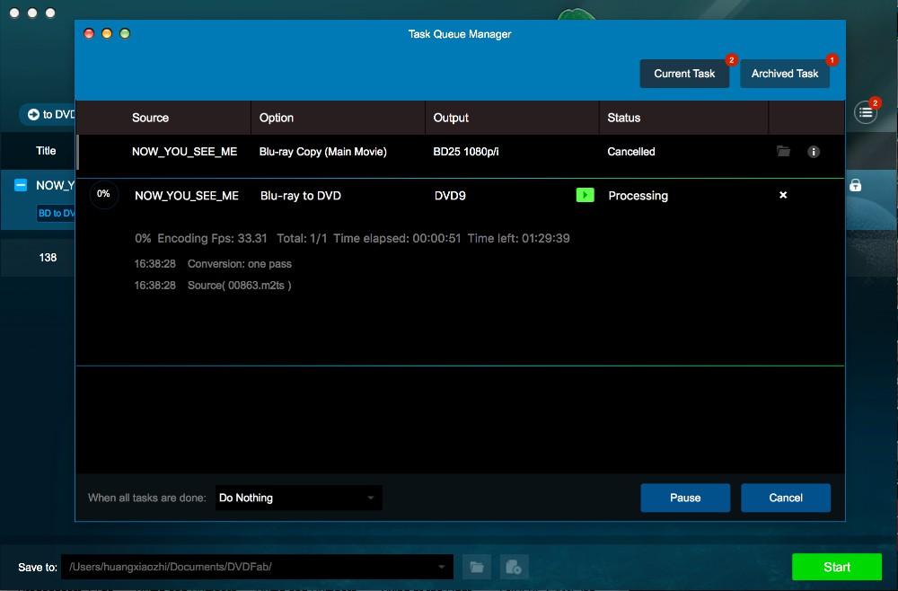 dvdfab blu-ray to dvd converter for Mac Anleitung 3