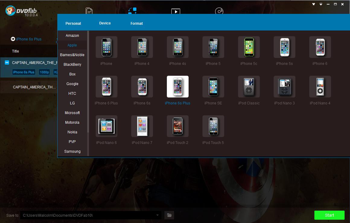 dvdfab blu-ray ripper screenshot 1