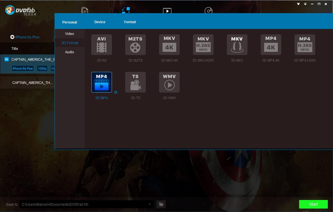 dvdfab blu-ray ripper screenshot 2
