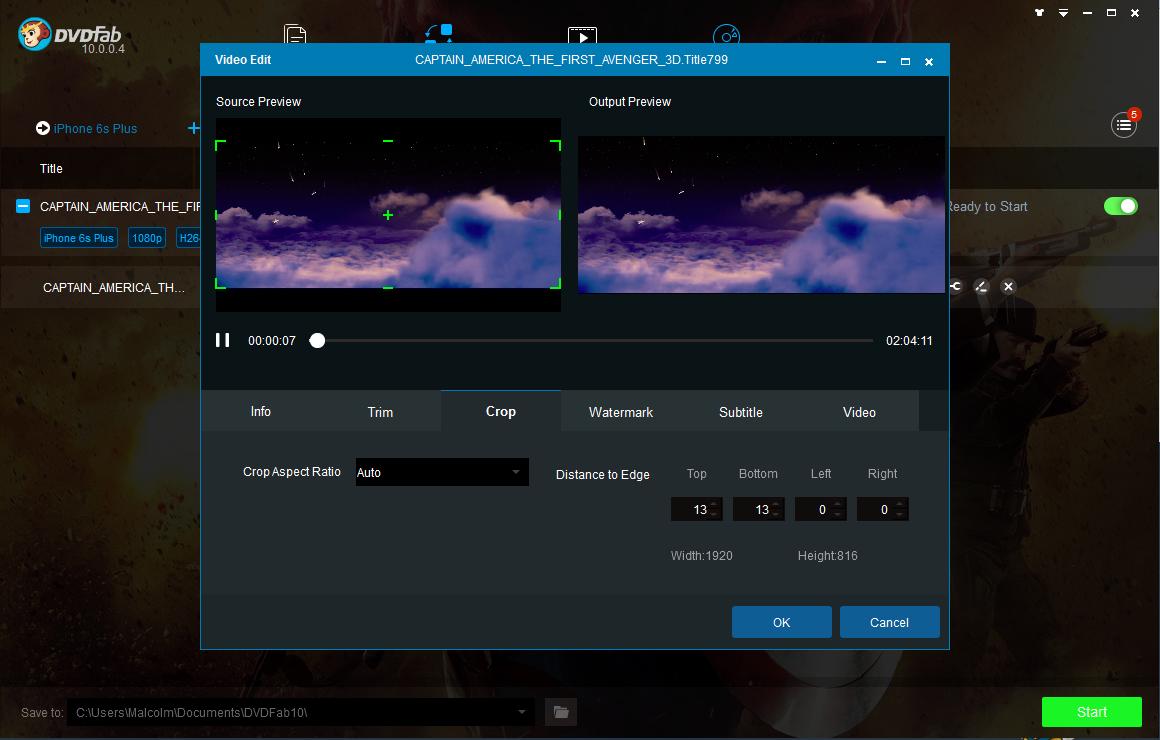 dvdfab blu-ray ripper screenshot 4