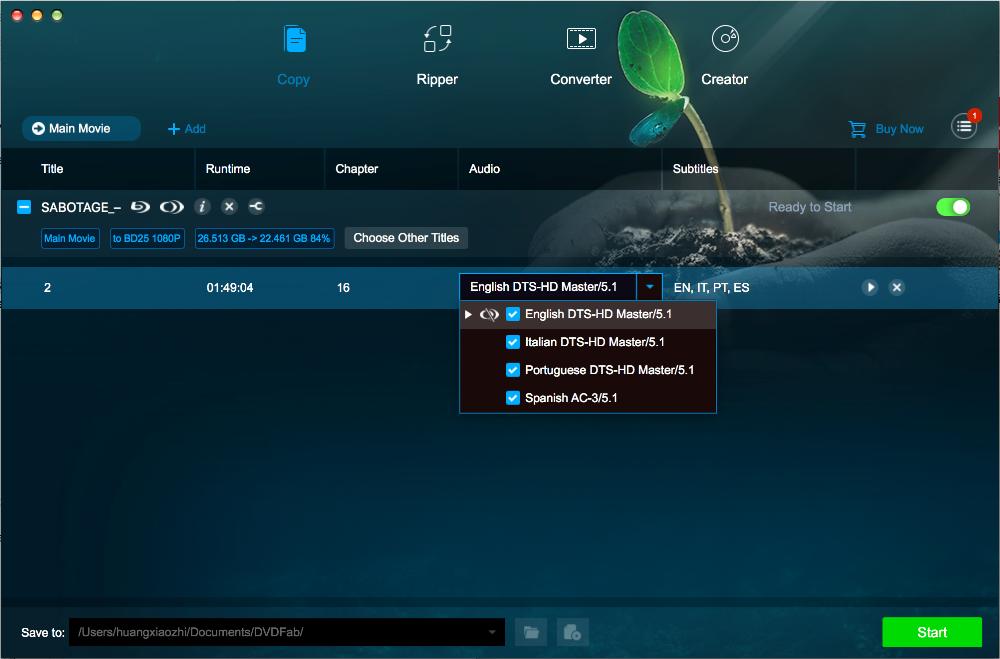 dvdfab CinaviaRemoval HD for Mac screenshot 3