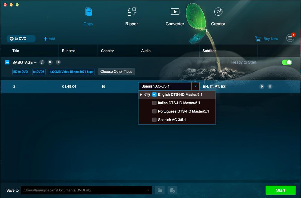 dvdfab CinaviaRemoval HD for Mac screenshot 4