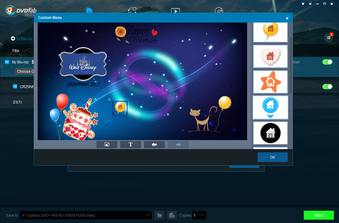 dvdfab dvd to blu-ray converter screenshot 4