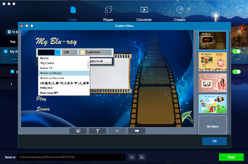 dvdfab dvd to blu-ray converter for Mac screenshot 4