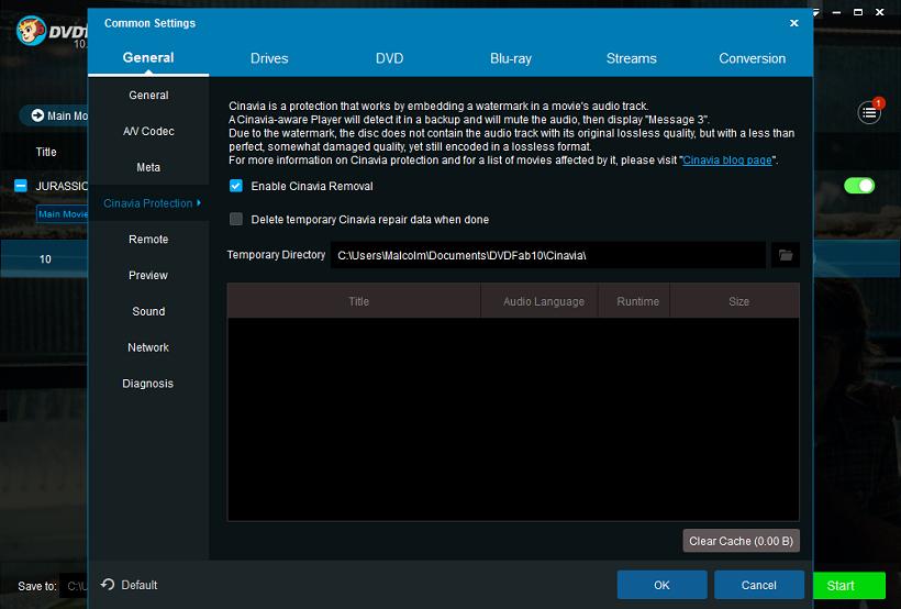 dvdfab dvd cinavia removal screenshot 1