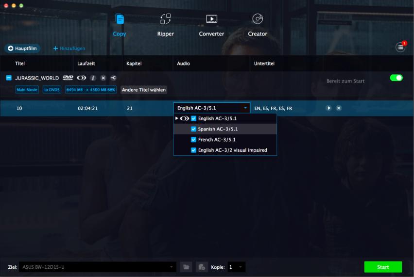 dvdfab dvd cinavia removal screenshot 2