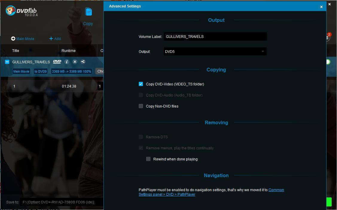 dvdfab hd decrypter screenshot 3