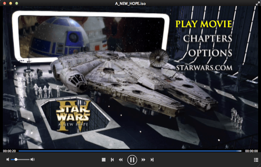 dvdfab media player for Mac screenshot 3