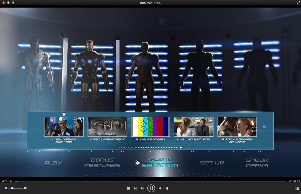 dvdfab media player for Mac screenshot 4