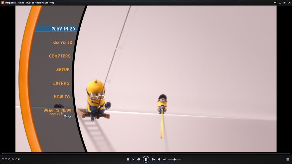 dvdfab media playerr screenshot 3