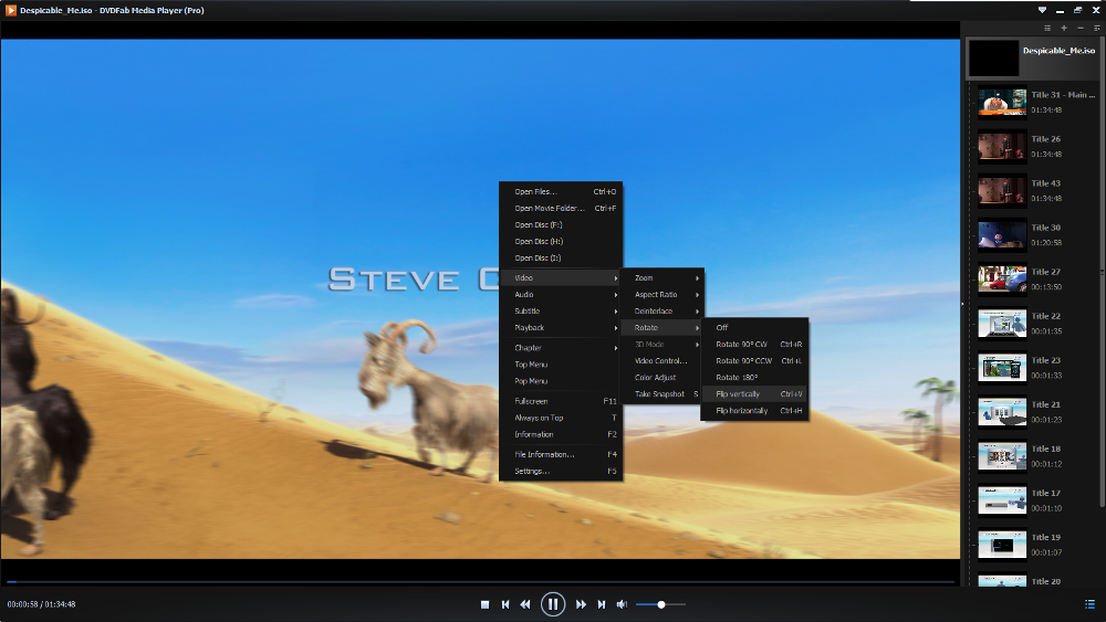 dvdfab media player screenshot 4