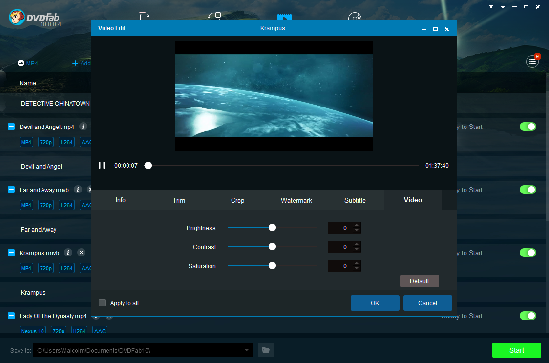 dvdfab video converter screenshot 4
