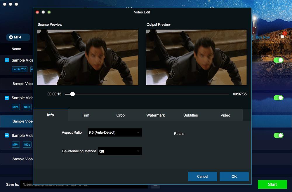 dvdfab video converter for Mac screenshot 3