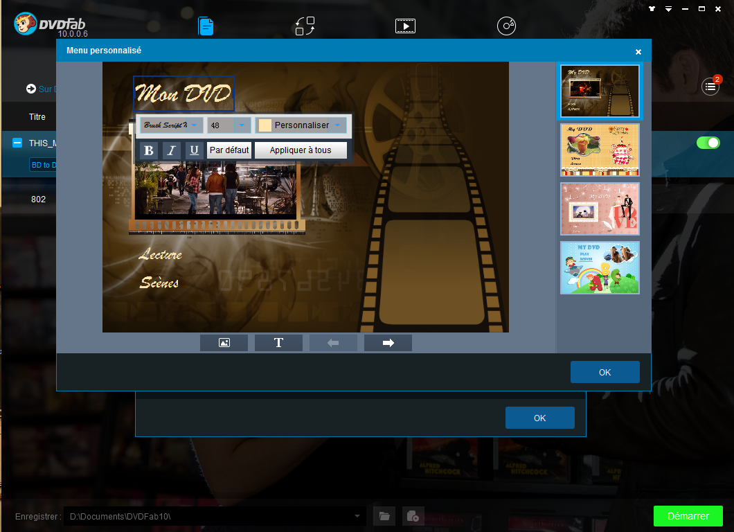 dvdfab blu-ray to dvd converter capture d'écran 3