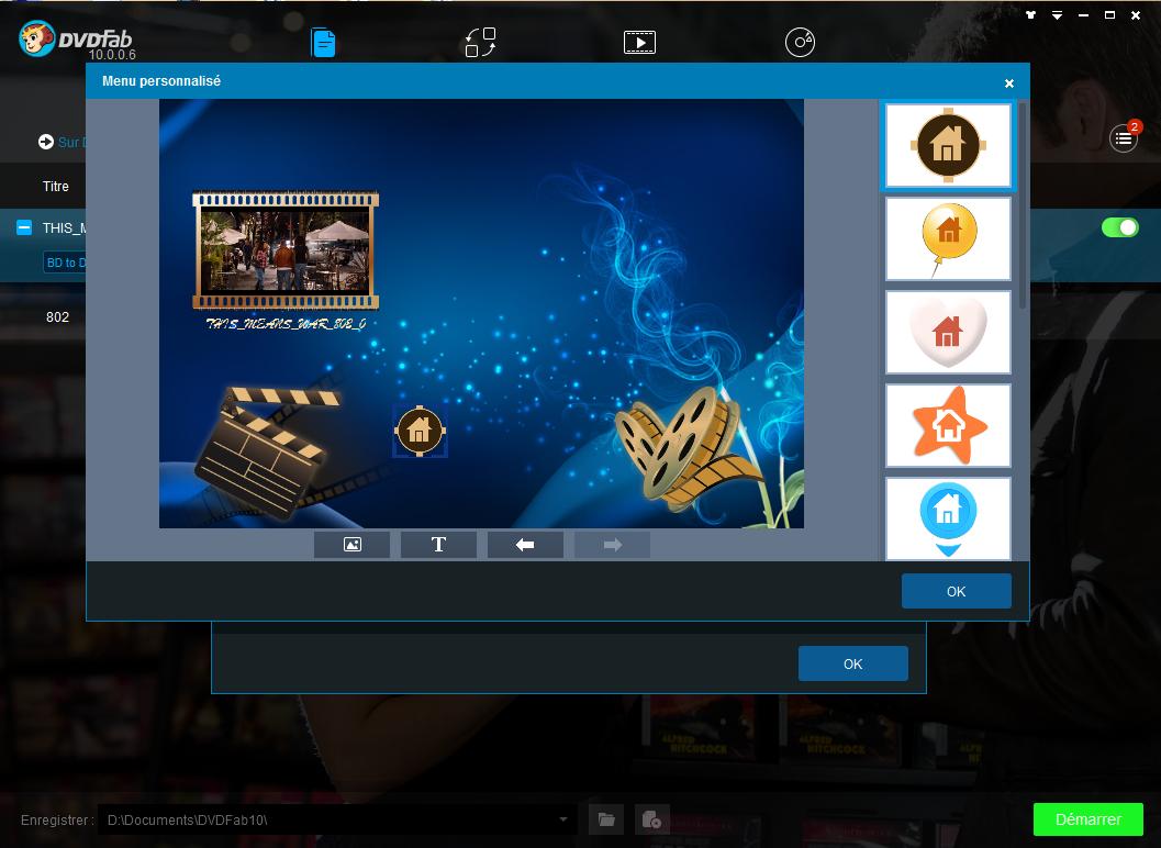dvdfab blu-ray to dvd converter capture d'écran 4