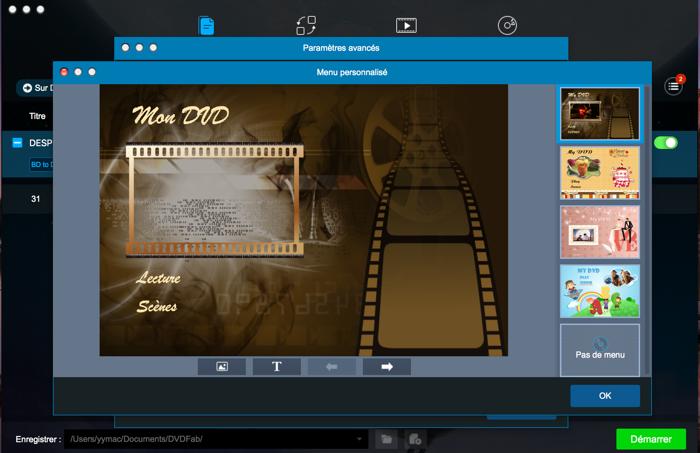 dvdfab blu-ray to dvd converter for mac capture d'écran 3