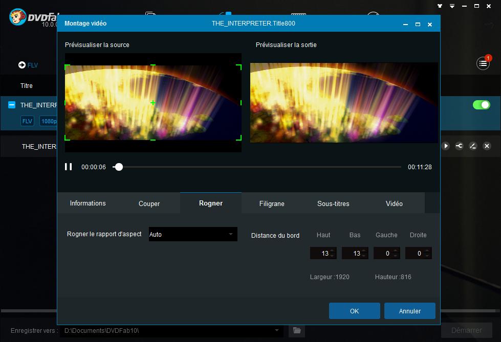 dvdfab blu-ray ripper capture d'écran 4