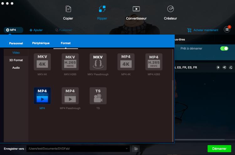 dvdfab blu-ray ripper for mac capture d'écran 2