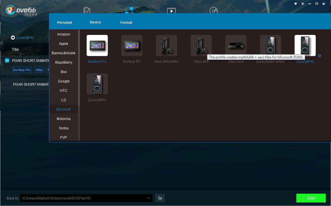 dvdfab file transfer capture d'écran 3