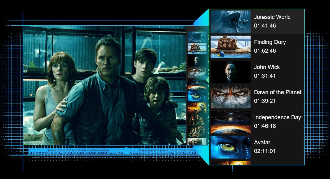 dvdfab media player fonctionnalité 4