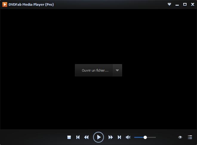 dvdfab media player capture d'écran 1