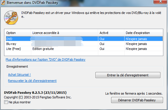 dvdfab passkey for dvd capture d'écran1