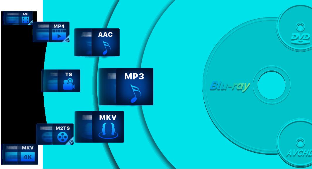 DVDfab Blu-ray 作成 機能 1