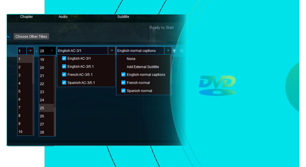 DVDFab ブルーレイDVD 変換 for Mac 機能 3