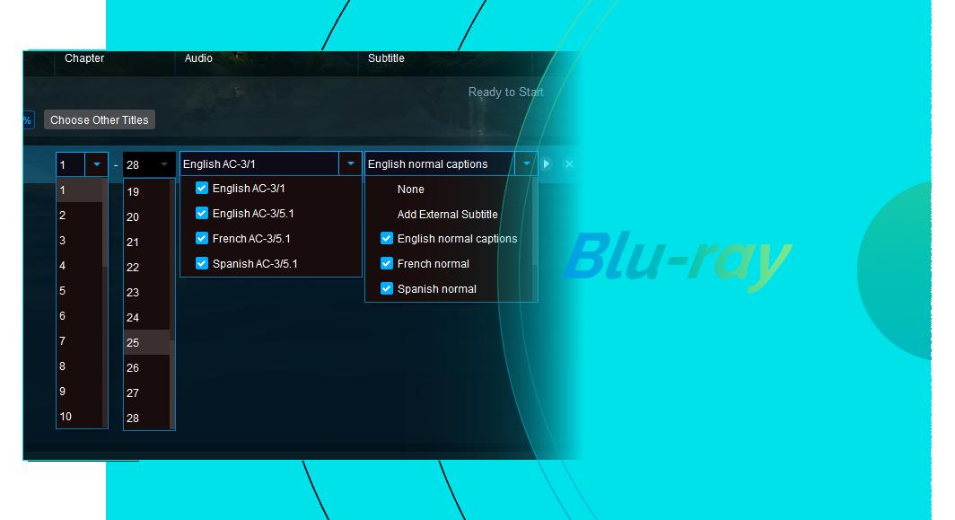 DVDfab DVD ブルーレイ 変換 機能 2