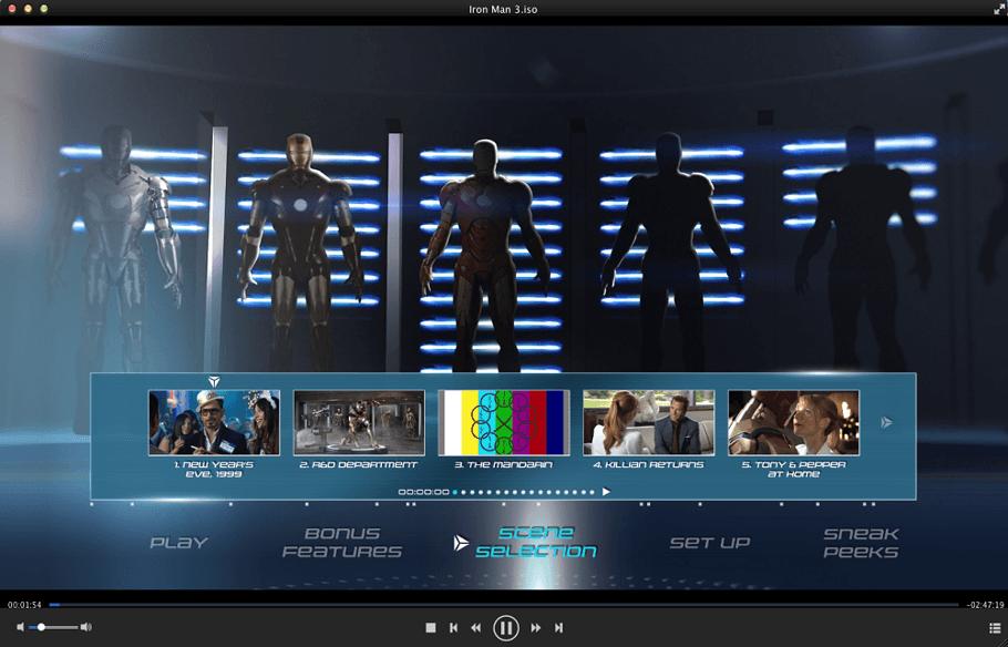 DVDFab メディア プレーヤーfor Mac スクリーンショット 4