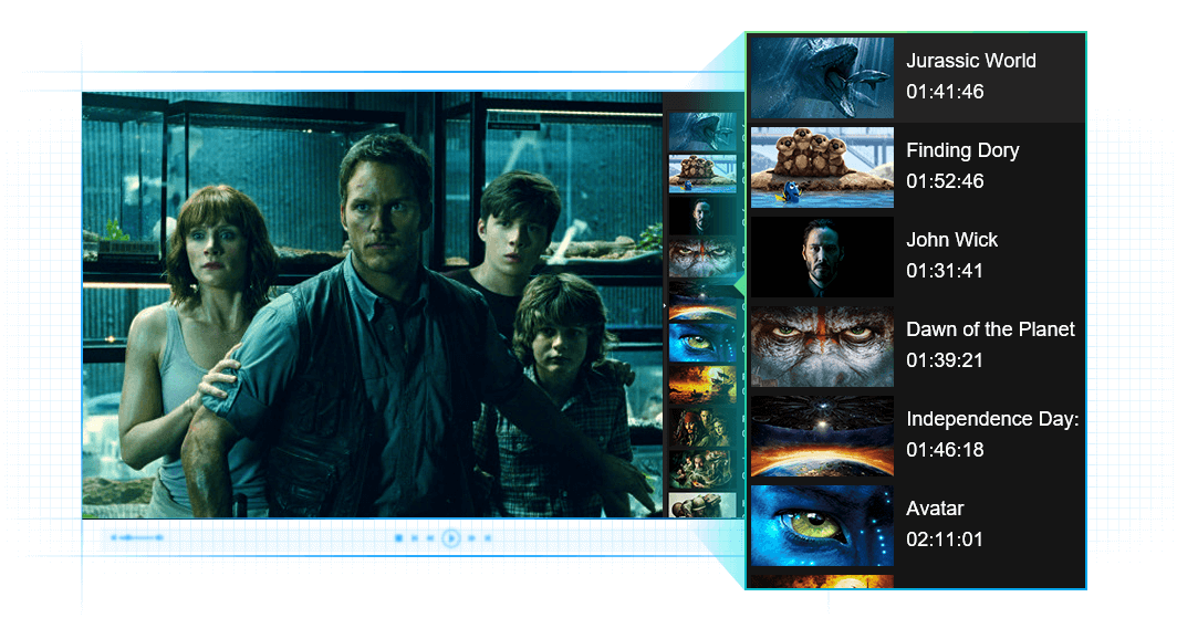 DVDFab メディアプレーヤー 機能 4