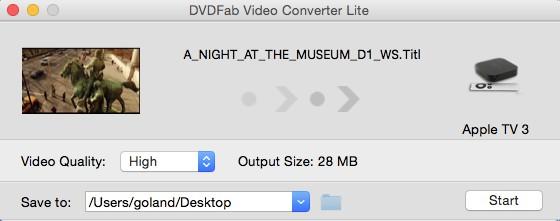 DVDFab 動画変換 Lite for Mac ガイド 1