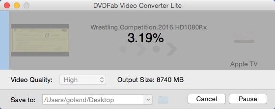 DVDFab 動画変換 Lite for Mac ガイド 3