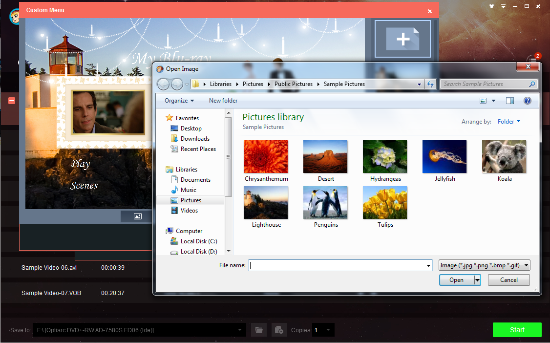 dvdfab blu-ray creator screenshot 3