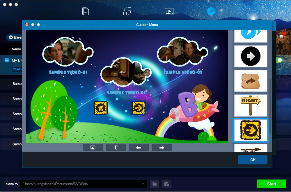 dvdfab blu-ray creator for Mac screenshot 4