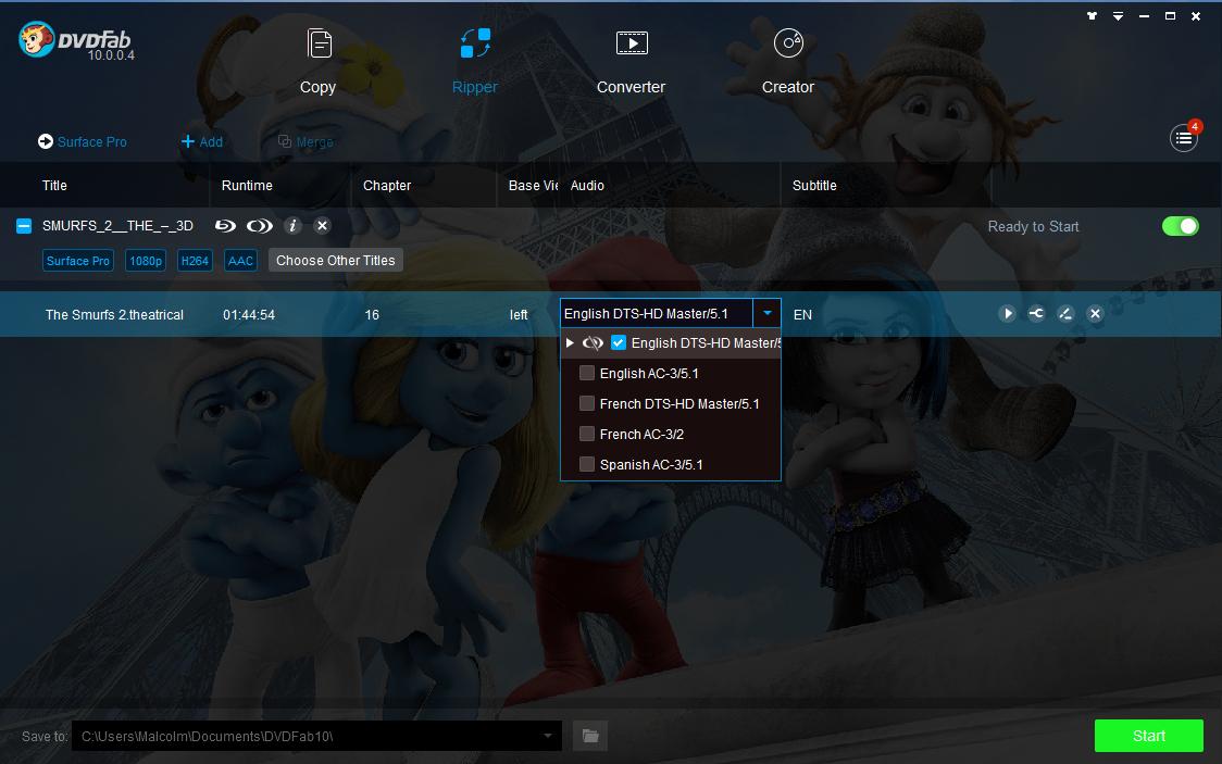 dvdfab blu-ray-cinavia-removal screenshot 3
