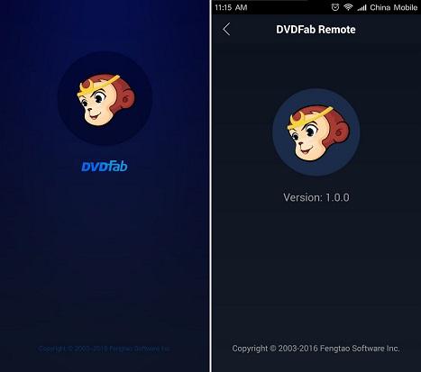 dvdfab remote screenshot 1