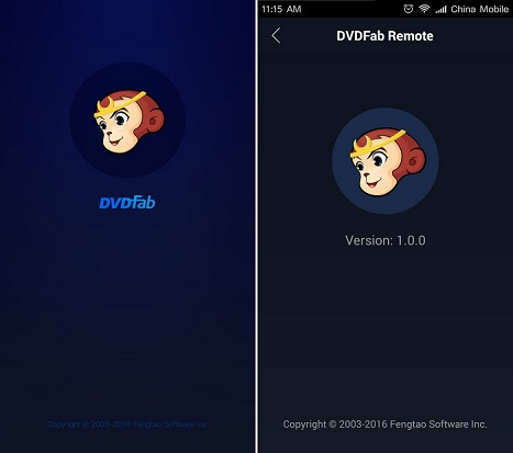 dvdfab remote screenshot 1