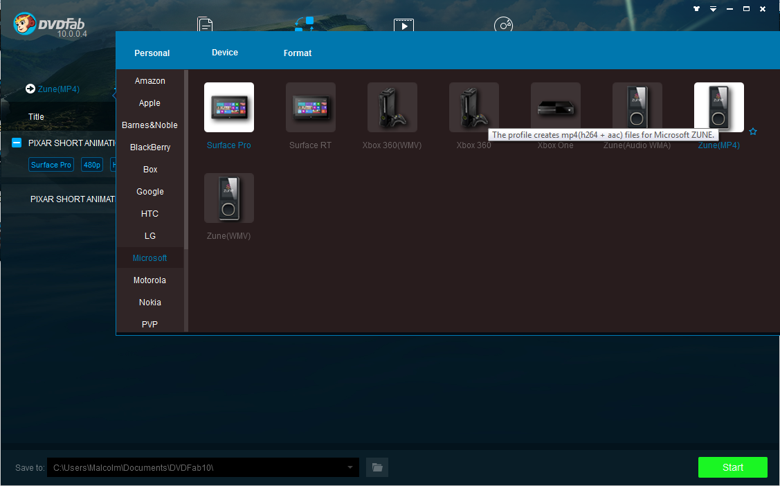 dvdfab file transfer screenshot 3