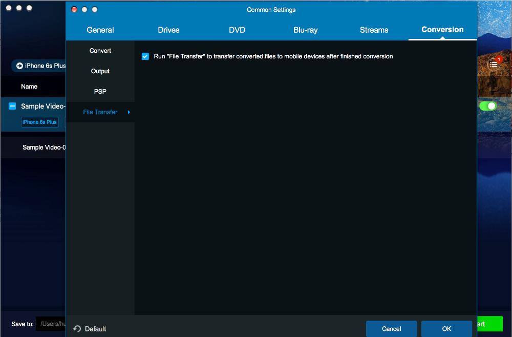 dvdfab file transfer for Mac screenshot 1