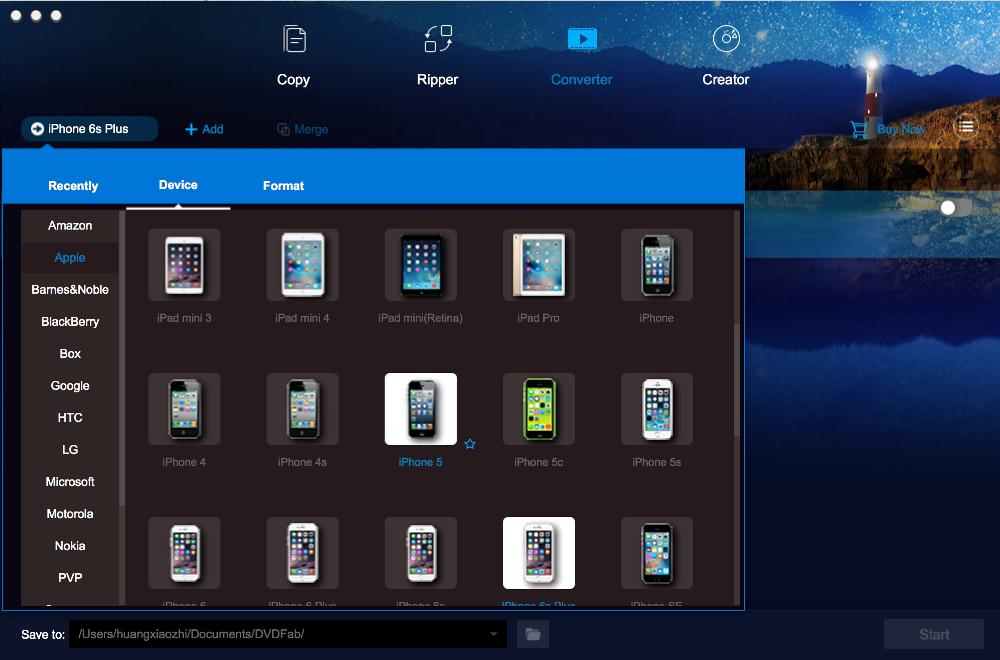 dvdfab file transfer for Mac screenshot 2