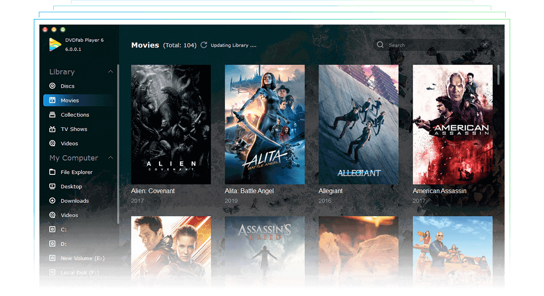 dvdfab media player for Mac feature 10